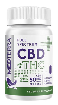 Medterra CBD Review. Medterra Full Spectrum CBD Product image