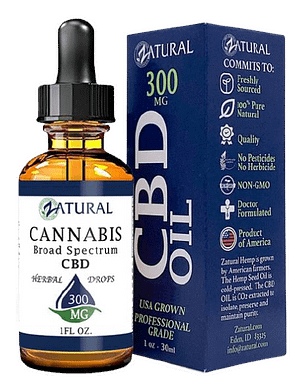 Best CBD oil for pain product image.