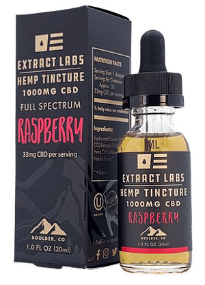 Best CBD oil for pain full-spectrum by Extract Labs.