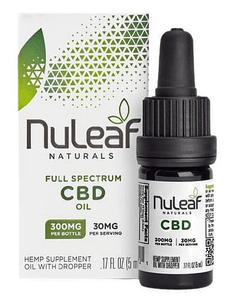 Nuleaf naturals review. An image of one of their most popular products.